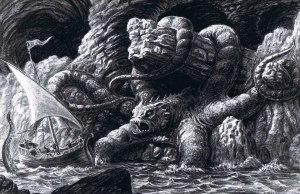 monster sea